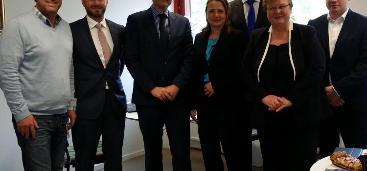Nederländska politiker på besök